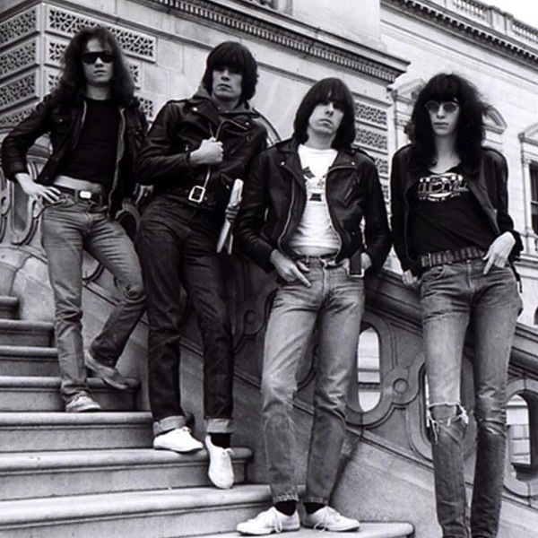 The Ramones.  Photo courtesy the Lippin Group.