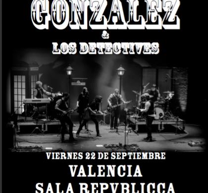 QUIQUE GONZÁLEZ – 22 setembre en la sala Repvblicca